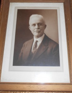 photo of Frank Claflin from archives