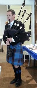 Stephen Thomford bagpiper Reunion 2017